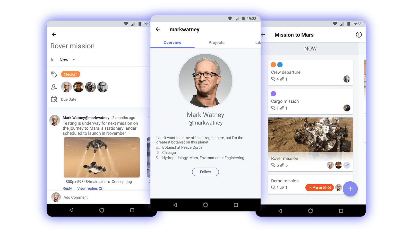 Archmule android app